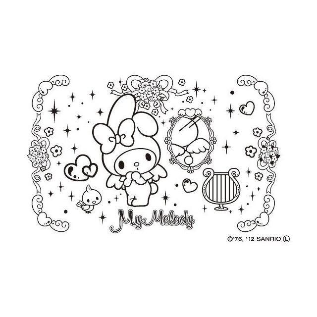 サンビー サンリオ ぬりえすたんぷ マイメロディ Sft Rllm02印鑑
